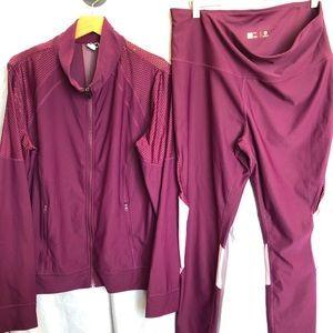 Xersion Ladies workout jacket & pants